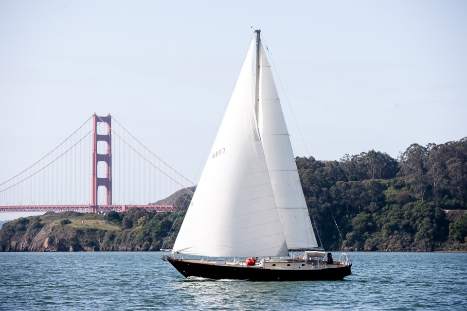 Fine Day For Sailing on San Francisco Bay