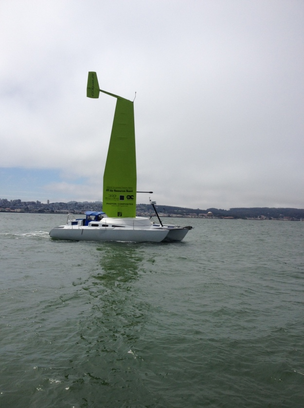 Saildrone on San Francisco Bay